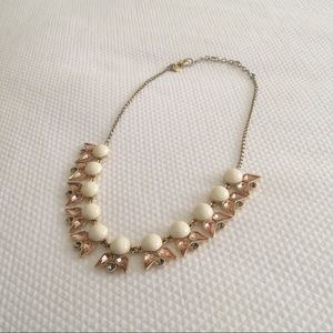J. Crew Pointed Petal Necklace